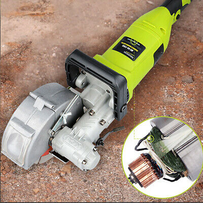 Wall Chaser Groove Electric Cutting Machine Wall Slotting Machine+Water Pump New