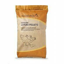 Marriages Farmyard Layers Pellets 20KG