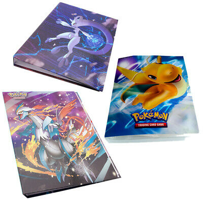 NEW Capacity Card Holder for Pokemon Album Book List Collectors Folder