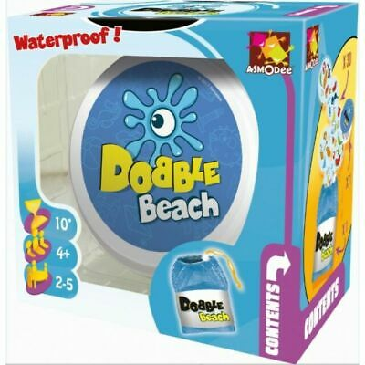 Official Asmodee Dobble Waterproof (Beach) Card Game!
