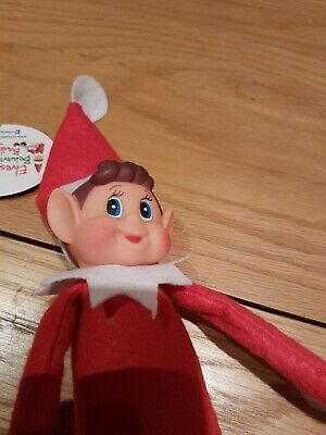 Toy Elf for On The Shelf Christmas Games Boys Girls Accessories Props Naughty 🎅