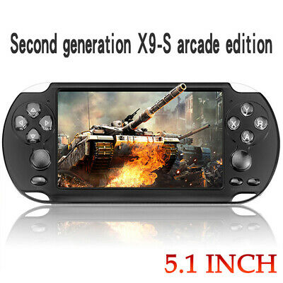 """5.1"""" 8G PSP Video Game Console Player Built-In 10000 Game Portable Handheld US"""