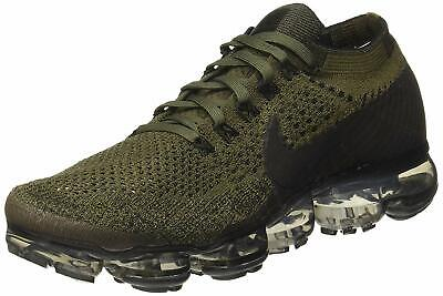 Nike Mens Air Vapormax Flyknit Fabric Low Top Lace Up Trail, Brown, Size 12.5 BL