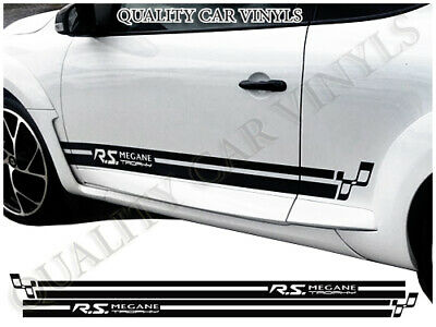 Renault RS Megane trophy Racing Stripes Decal Graphics Stickers RS74