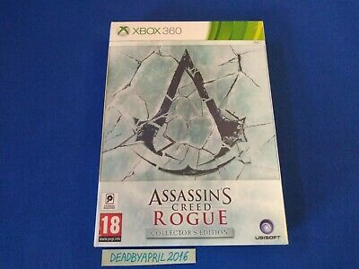 Assassins Creed Rogue Collectors Edition Xbox 360/Xbox One(New/Factory Sealed)