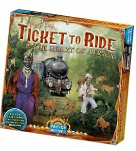 DOWDO7217 Days Of Wonder - Ticket To Ride Map Collection V3: The Heart of Africa