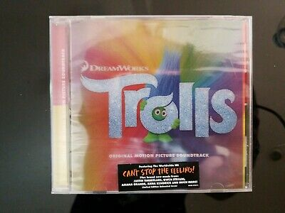 TROLLS - Original Movie Soundtrack CD Dreamworks Motion Picture 2016 New Sealed