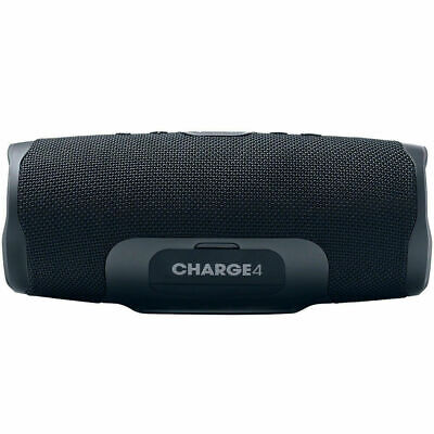 JBL Charge 4 Portable Waterproof Bluetooth Speaker - Black