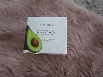 Glow Recipe Neuf Avocat Melt Complet Taille Couchage Masque Vegan Naturel IG