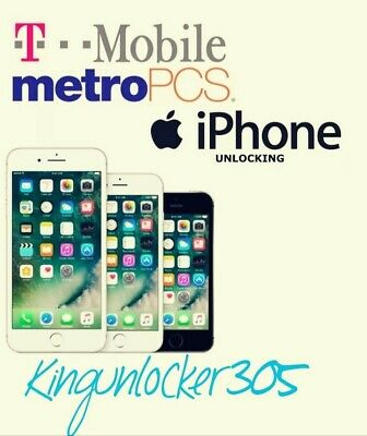 T-Mobile / MetroPcs USA Unlock Service iPhone 7/7+ (Clean+Financed IMEI)