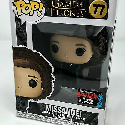 Game of Thrones - Missandei #77 (2019 Fall Convention) Funko Pop! Vinyl