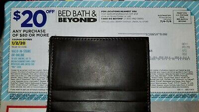 Bed Bath & Beyond Coupon! $20 OFF $80 Purchase! Online or In Store! Exp 1/2/20