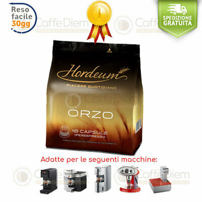 illy Orzo Barley illy Iperespresso 36 Capsule Cialde HORDEUM