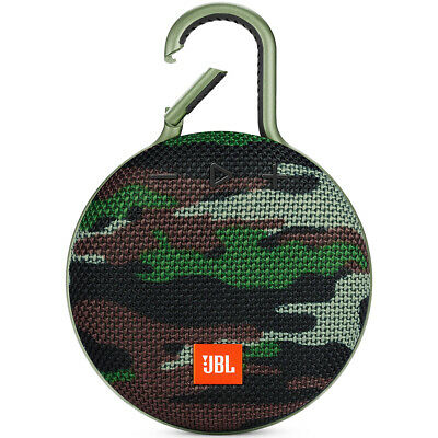 JBL Clip 3 Waterproof Portable Bluetooth Speaker - Camouflage *CLIP3SQUAD