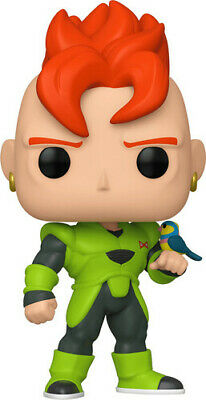 Dragon Ball Z - Android 16 - Funko Pop! Animation: (2019, Toy NUEVO)