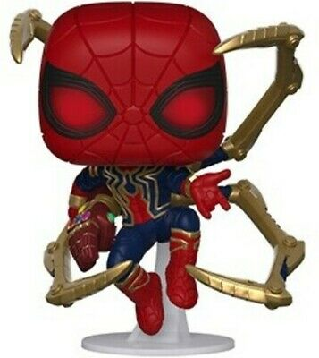 Endgame - Iron Spider W/ Nano Gauntlet - Funko Pop! Marvel: (2019, Toy NUEVO)