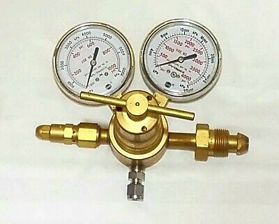 NEW VICTOR SR4F-580 INERT GAS REGULATOR High Pressure & Capacity Manifold Piston
