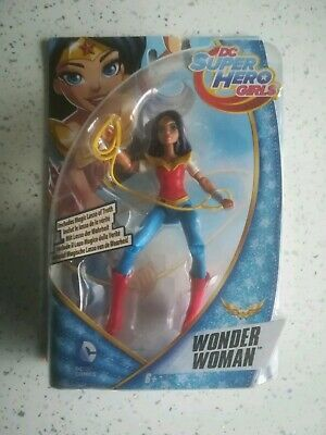 Dc Comics Super Hero Girls 6 Inch Wonder Woman Action Figure Collectible Toy New
