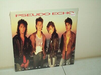 Pseudo Echo love an adventure vinyl record album 1987 RCA 5730-1-R SEALED