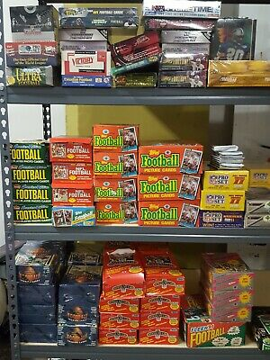 Unopened new old Football cards vintage wax cello Packs 200 cards Bonuses!!