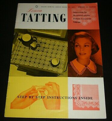 VINTAGE 1960s COATS LEARN TATTING BOOKLET