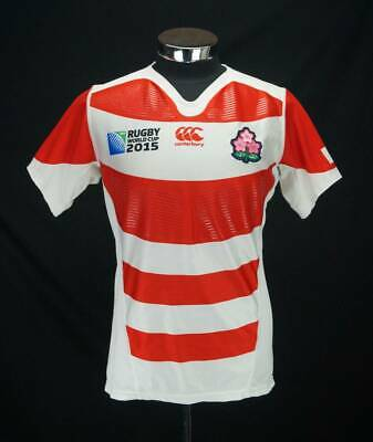 Used Rugby World Cup Autograph Canterbury 2015 Japan First Jersey Sign