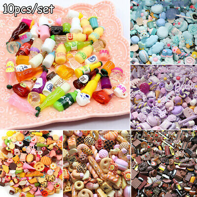 Colorful DIY Jewelry 1:12 Dollhouse Accessories Resin Miniature Phone Decor