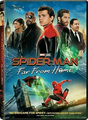Spider-Man: Far From Home (DVD, 2019) Fast Free 1st Class Shipping!