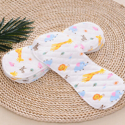 Baby Cloth Diaper Insert Liner Soaker Pad Nappy Pocket Washable Insert Reusable