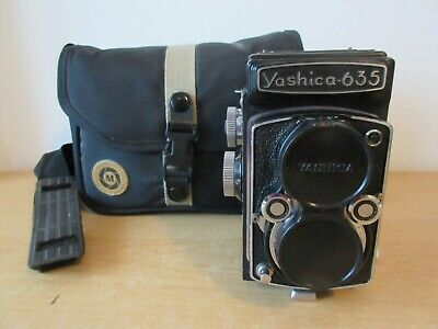 Yashica 635 Camera 120 Roll Medium Format Yasicor TLR Lens - lovely condition