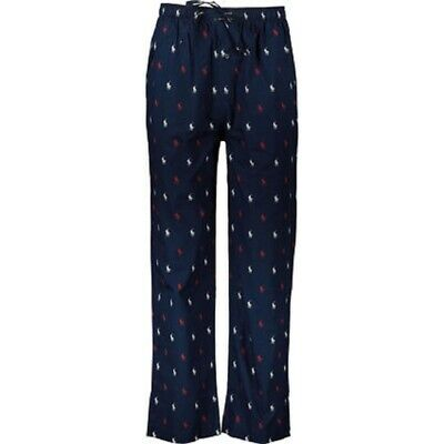 Polo Ralph Lauren Navy Repeat Pony Print Pyjama Bottoms. Mens Size Large.
