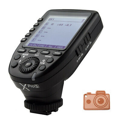 AU Godox XPro-S 2.4G X System TTL Wireless Outdoor Camera Flash Trigger for Sony