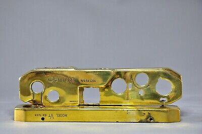 Canon VT Deluxe Rangefinder Top Plate and Base Plate, Brassed