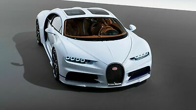 AE871 Photo Picture Poster Print Art A0 to A4 BUGATTI CHIRON SPORT 110 ANS