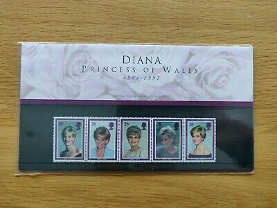 Diana Princess Of Wales Stamps Presentation Pack - 1997