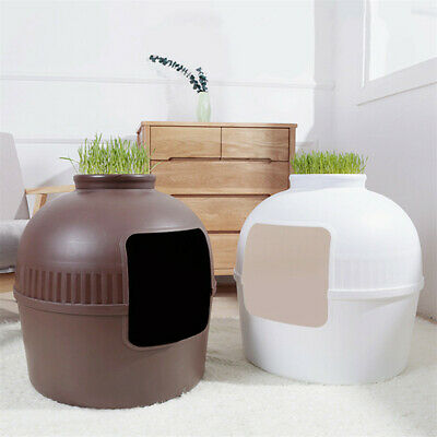 Extra Large Hidden Cat Litter Tray Plant Pot Invisible Removable FREE Bathtub