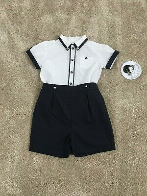 Sarah Louise Baby Boys Two Piece Outfit 12m