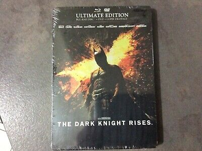 Batman - The dark knight rises BLU RAY STEELBOOK NEUF SOUS BLISTER.EDITION ULTIM
