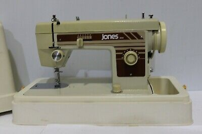 JONES 300 Electric Sewing Machine with Case -250