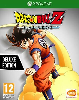 Dragon Ball Z: Kakarot Deluxe Edition Xbox One Nuovo Bandai Dbz Disponibile