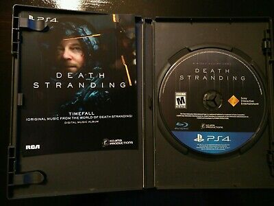 Death Stranding Video Game Disc & Sound Track ONLY Kojima PlayStation 4 PS4