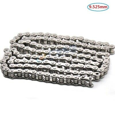 #35 Roller Chain Single Side Bent Ear Roller Chain Pitch 9.525mm 06B-1 x 1.5M