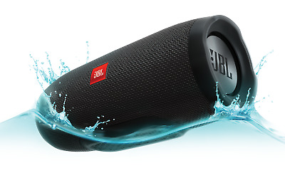 Genuine JBL Charge 3 Waterproof Portable Bluetooth Speaker - Black
