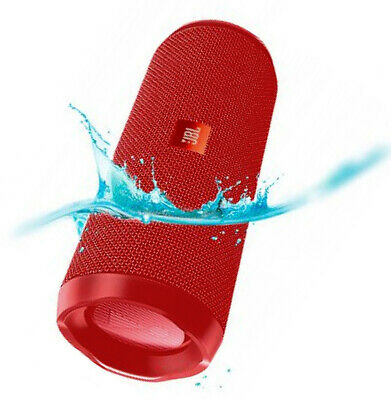 Genuine JBL Flip 4 Bluetooth Portable Wireless Speaker Waterproof - Red