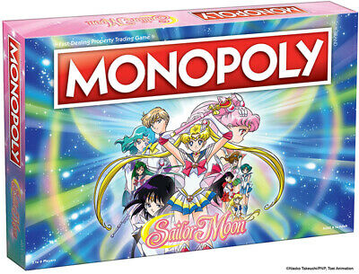 Sailor Moon MONOPOLY®  8+ 2-6 players 60+ minutes