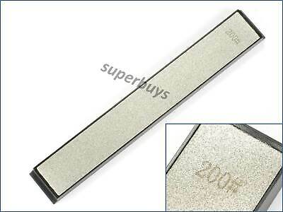 200Grit Whetstone Polishing Diamond Plate Stone Knife Blade Sharpening Tool