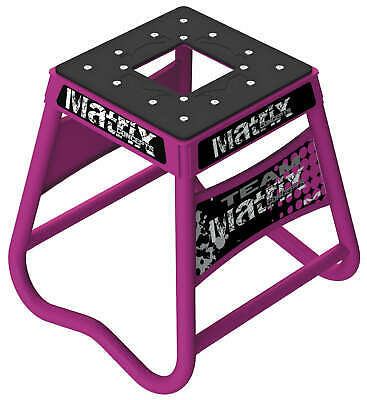 Matrix Concepts A2 Aluminum Stand Dirt Bike Pink A2 109