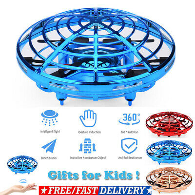 Mini Drones 360° Rotating Smart Mini RC UFO Drone for Kids Toys Xmas Toy Gifts