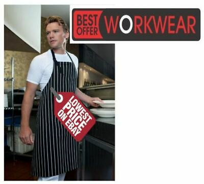 JB's Wear JB's BIB STRIPED APRON WITHOUT PKT JBS 5BSNP