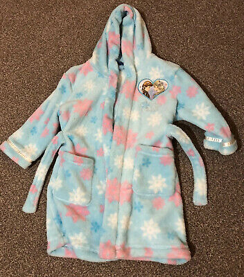 Girls Frozen Anna And Elsa Dressing Gown, 2-3 Years, Mini Club